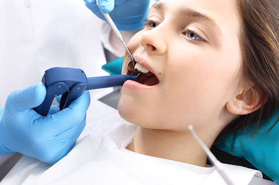 tooth is fractured or damaged